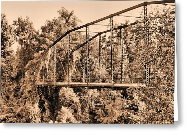Hart Greeting Cards - Harts Bridge  Greeting Card by JC Findley
