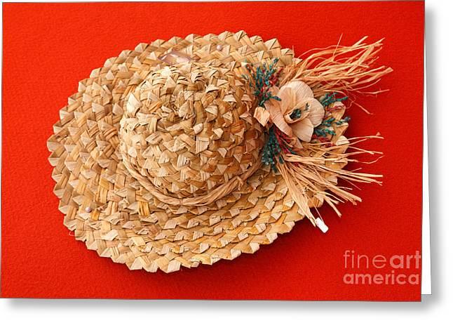 Hat Greeting Card by Gaspar Avila