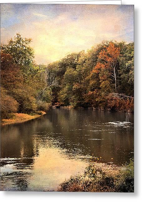 Hatchie River Greeting Card by Jai Johnson