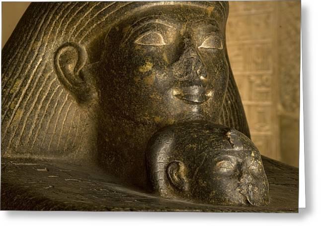 Pharaoh Greeting Cards - Hatshepsuts Daughter, Neferure Greeting Card by Kenneth Garrett