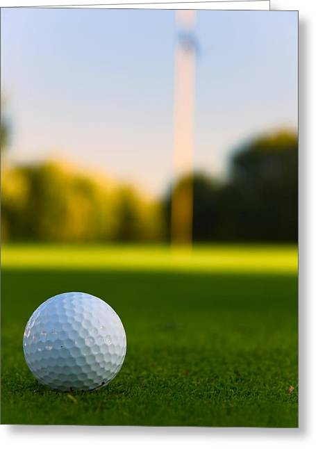 Golf Greeting Cards - Have A Ball Greeting Card by Edwin Voorhees