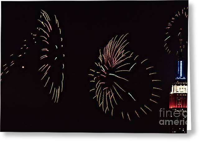 Have a Fifth on the Fourth Greeting Card by Susan Candelario