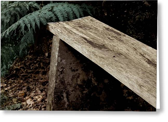 Park Benches Greeting Cards - Have A Seat Greeting Card by Odd Jeppesen