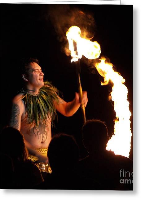Hawii Greeting Cards - Hawaii Luau Greeting Card by Krista Kulas