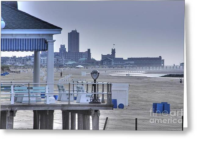 Hdr Photo Greeting Cards - HDR Beach Beach Ocean View Photos Pictures Photography Photographs Pics Photos   Greeting Card by Pictures HDR