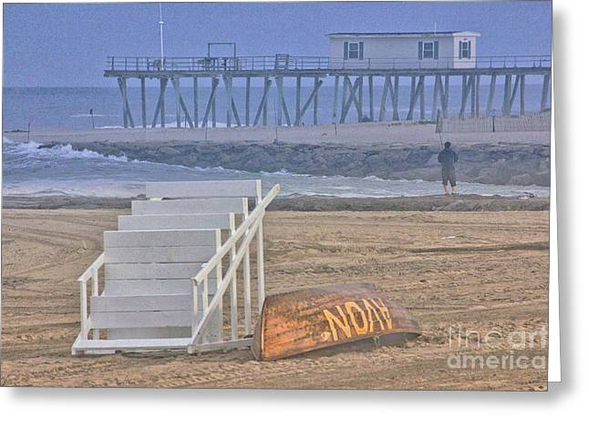 Oceanview Greeting Cards - HDR Beach Beaches Ocean Oceanview Seascape Sea Shore Photos Pictures Photography Photograph Sea New Greeting Card by Pictures HDR
