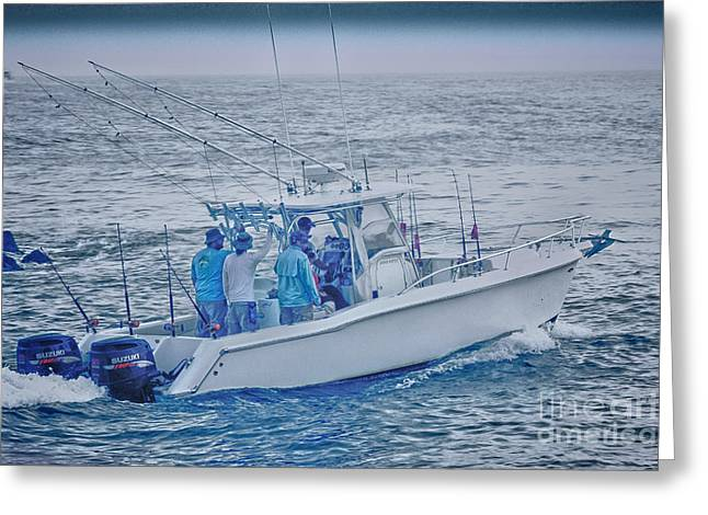 Buy Sell Photo Greeting Cards - HDR Boat Boats Sea Ocean Seascape Buy Sell Selling Gallery Photos Pictures Photography New Art  Greeting Card by Pictures HDR