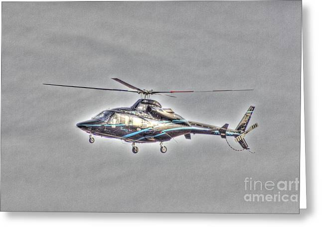 Buy Sell Photo Greeting Cards - HDR Helicopter Aircraft Pilot Pictures Photos Buy Sell Selling Art New Photography Pics Greeting Card by Pictures HDR