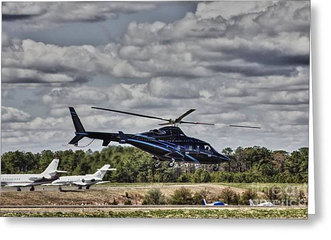 Pictures Buy Photography Greeting Cards - HDR Helicopter Planes Airplanes Aircraft Buy Selling Sell Gallery Photos Pictures Art Photography  Greeting Card by Pictures HDR