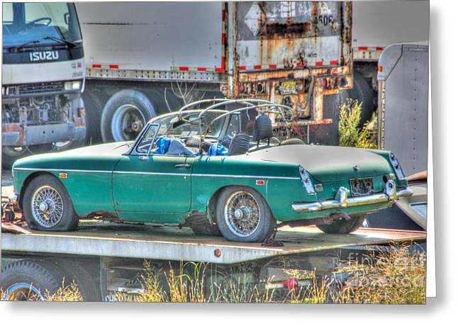 Hdr Pictures Greeting Cards - HDR Photography HDR Pictures HDR Photos Car Cars Gallery Selling Buy Art Picture Image Classic Pics Greeting Card by Pictures HDR