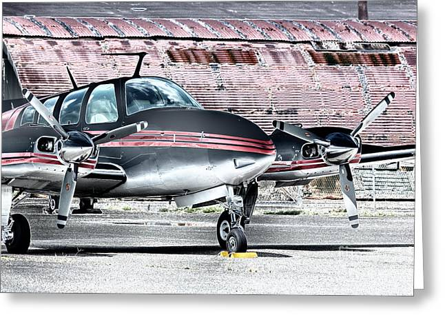 Buy Sell Photo Greeting Cards - HDR Polarized Effect Plane Airplane Photo Pictures Photos Gallery Buy Sell Selling New Unique Pics Greeting Card by Pictures HDR