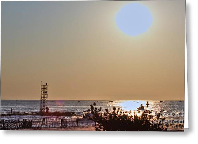 Seashell Picture Photographs Greeting Cards - HDR Seascape OceanView Beach Beaches Summer Photos Pictures Photography Photo Pics Sea New Picture  Greeting Card by Pictures HDR