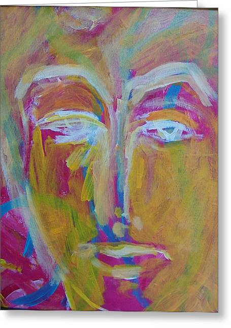Best Sellers -  - Observer Greeting Cards - He the Man Greeting Card by Judith Redman