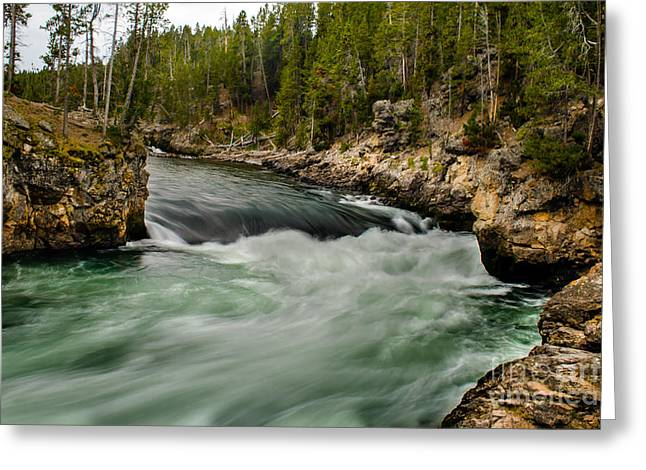 Missouri River Greeting Cards - Heading For The Fall Greeting Card by Robert Bales