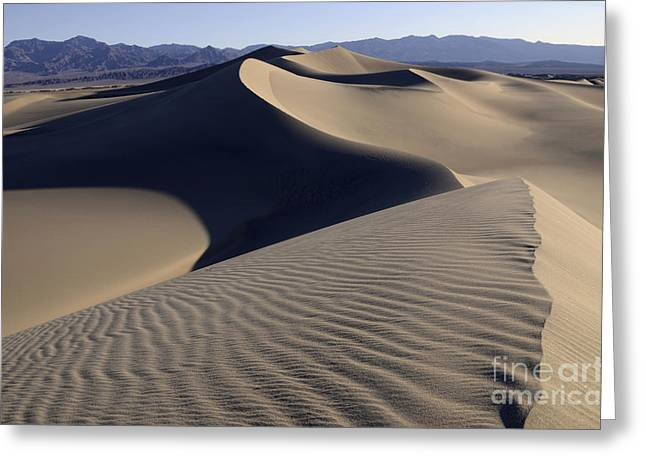 Mountains Of Sand Greeting Cards - Healing Powers Greeting Card by Bob Christopher