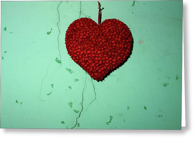 Interior Still Life Greeting Cards - Heart Greeting Card by Bernard Jaubert