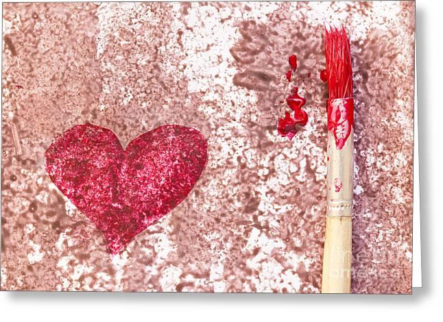 heart  Greeting Card by Igor Kislev