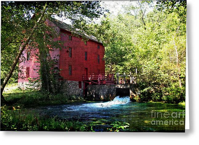 Lianne Schneider Fine Art Print Greeting Cards - Heart of the Ozarks Greeting Card by Lianne Schneider