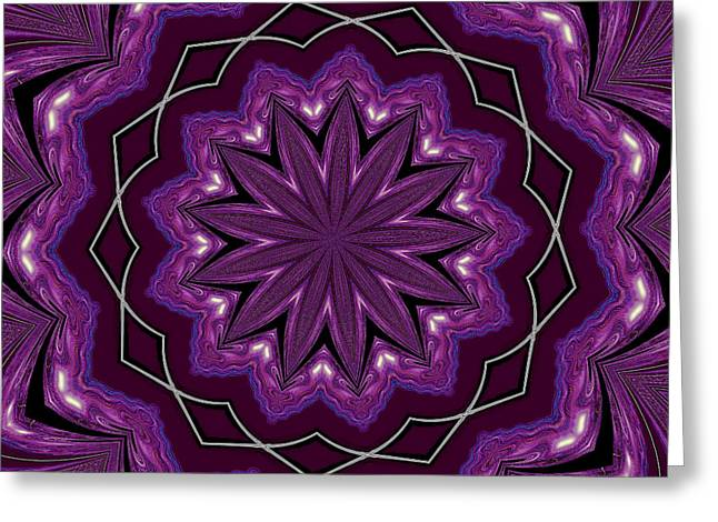 Artprint Greeting Cards - Heather and Lace Greeting Card by Alec Drake