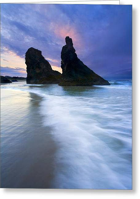Heavenly Sunset Greeting Cards - Heavenly Halo Greeting Card by Mike  Dawson