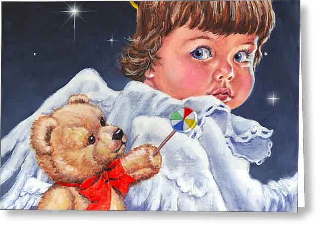 Heavenly Greeting Card by Richard De Wolfe
