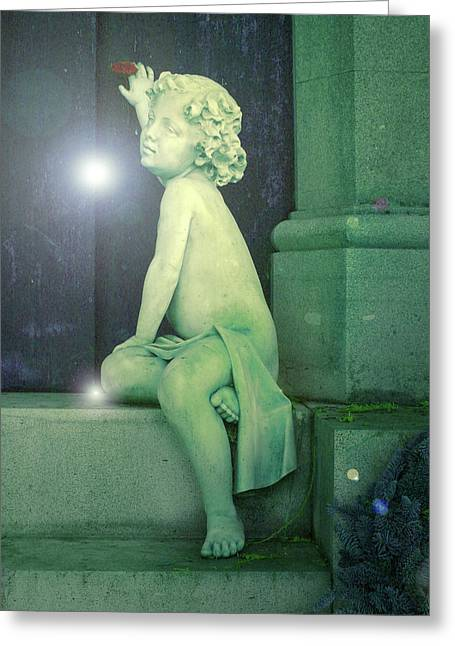 Pearly Gates Greeting Cards - Heavens Door Greeting Card by Ramon Labusch