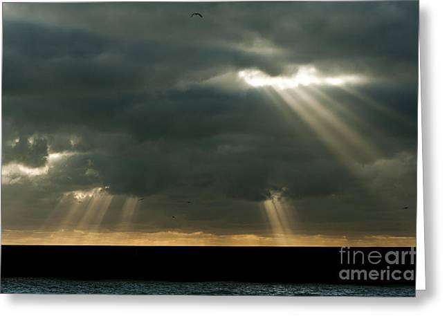 2012 Digital Art Greeting Cards - Heavens Gates Greeting Card by Donald Davis