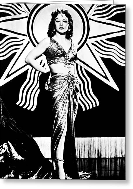 1949 Movies Greeting Cards - Hedy Lamarr (1914-2000) Greeting Card by Granger
