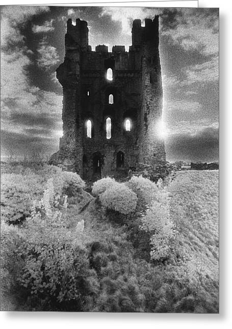 Helmsley Castle Greeting Card by Simon Marsden