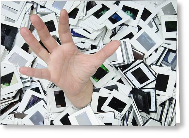 Help - too many slides Greeting Card by Matthias Hauser