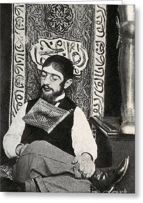 Famous Person Greeting Cards - Henri Toulouse-lautrec Greeting Card by Photo Researchers