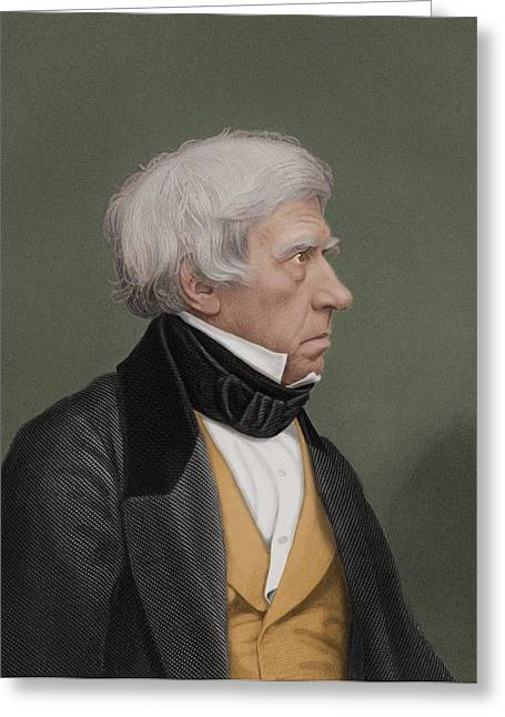 Henry Brougham Greeting Cards - Henry Brougham, British Statesman Greeting Card by Maria Platt-evans