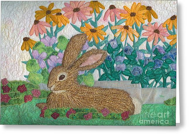 Print Tapestries - Textiles Greeting Cards - Henry Greeting Card by Denise Hoag