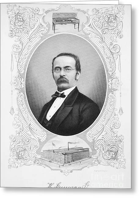 Henry Engelhard Steinway Greeting Card by Granger