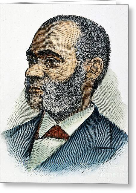 Abolition Greeting Cards - Henry Highland Garnet Greeting Card by Granger