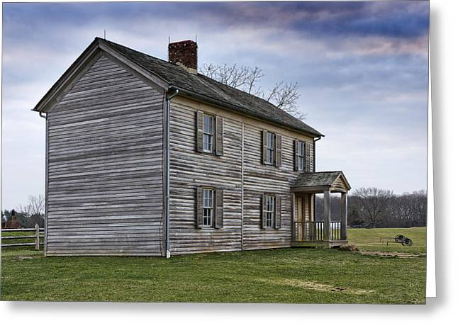 Recently Sold -  - Civil Greeting Cards - Henry House at Manassas Battlefield - Virginia Greeting Card by Brendan Reals