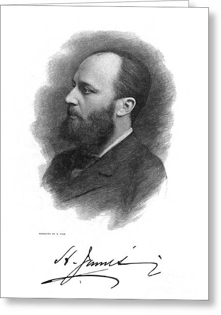 Cole Greeting Cards - Henry James (1843-1916) Greeting Card by Granger