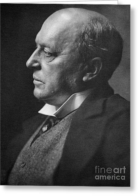 Travel Narratives Greeting Cards - Henry James, American-born British Greeting Card by Photo Researchers, Inc.