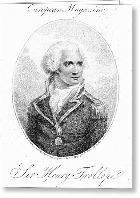 Naval College Greeting Cards - Henry Trollope (1756-1839) Greeting Card by Granger