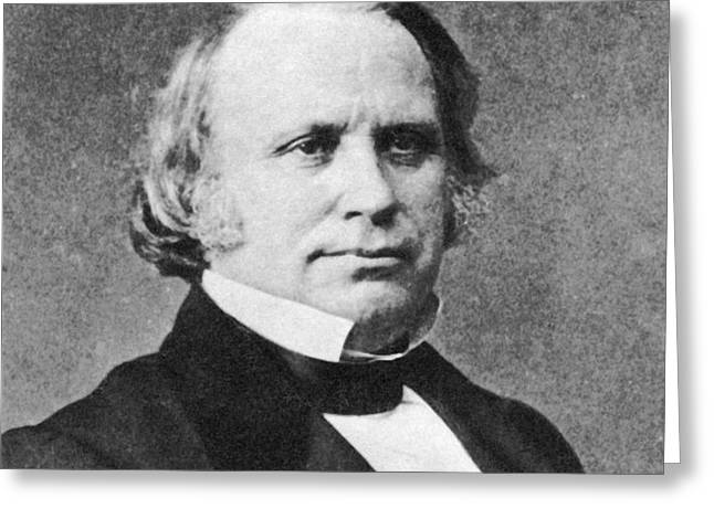 Henry Wilson Greeting Card by Photo Researchers