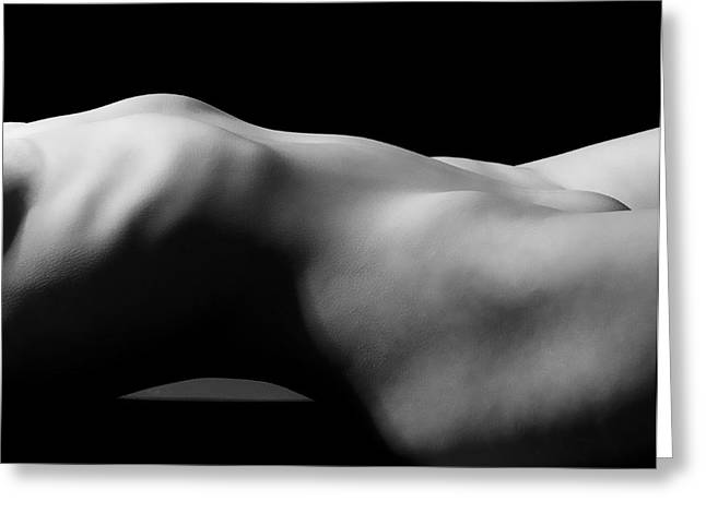 Butt Cheeks Greeting Cards - Her Body Greeting Card by Michael Carroll