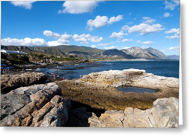 Beach View Greeting Cards - Hermanus coastline Greeting Card by Fabrizio Troiani