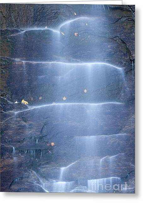 Chimney Rock North Carolina Greeting Cards - Hickory Nut Falls North Carolina Greeting Card by Dustin K Ryan