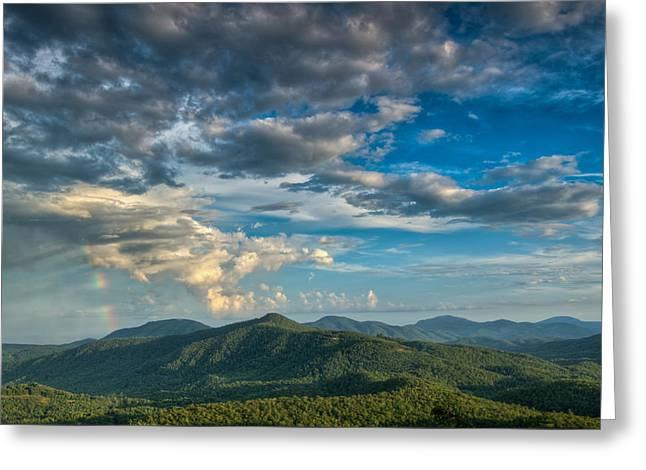 Hidden Spaces Greeting Cards - Hidden Rainbow Greeting Card by Joye Ardyn Durham