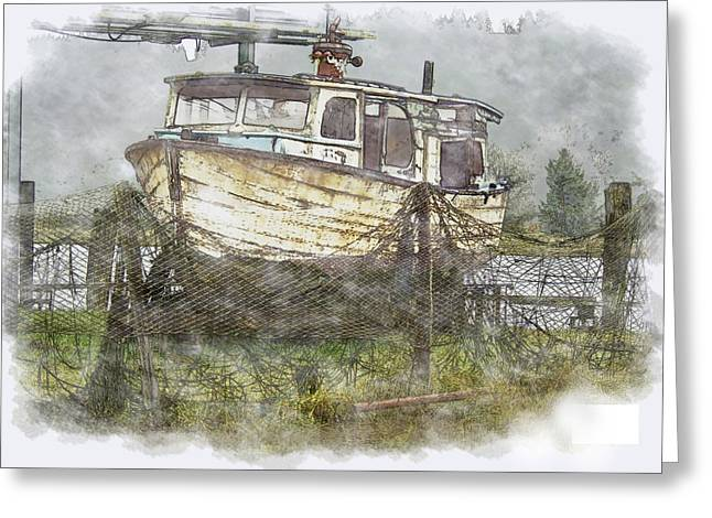 Repaired Digital Art Greeting Cards - Hidden Treasure 2 Greeting Card by Dale Stillman