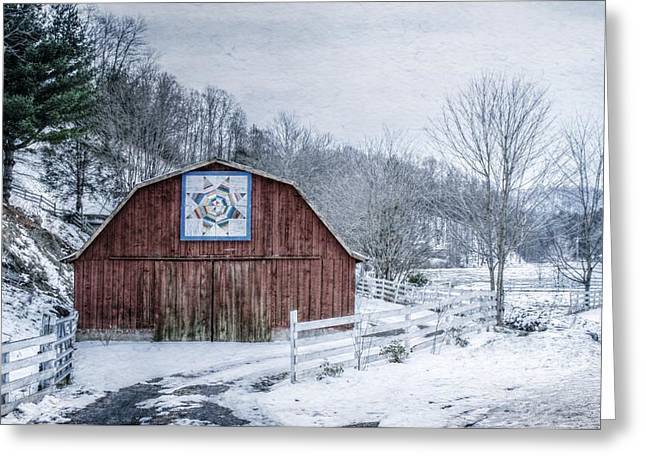 High Country Style Greeting Card by Christine Annas