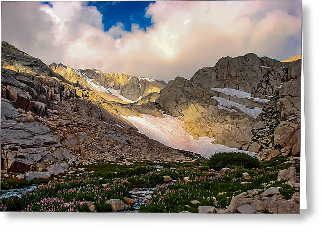 Mount Whitney Greeting Cards - High Sierra Beauty Greeting Card by Scott McGuire