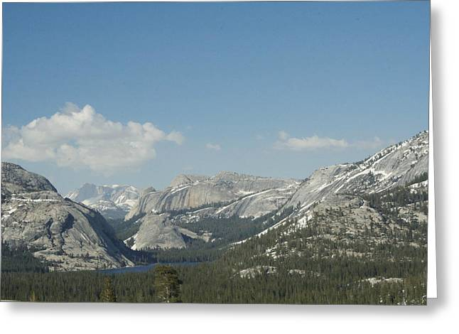 From The Dome Greeting Cards - High Sierra Vista Greeting Card by Lucinda Blackstone