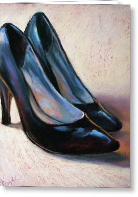 Donna Shortt Greeting Cards - High Style II Greeting Card by Donna Shortt