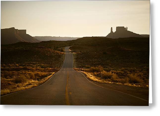 128 Greeting Cards - Highway 128 Greeting Card by Marilyn Hunt